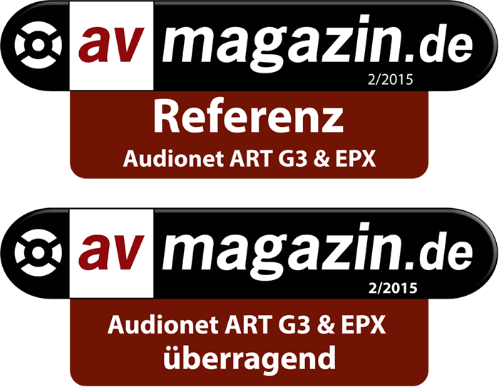Referenz Audionet ART G3 und EPX av magazin