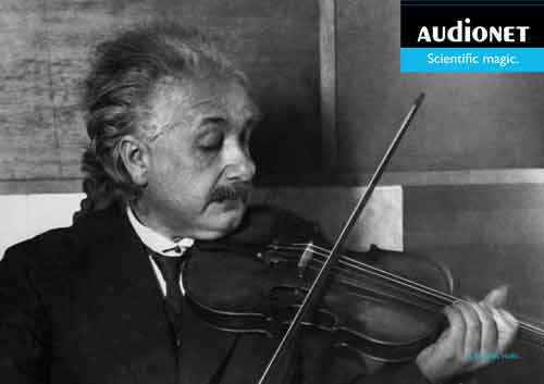 Albert Einstein Audionet - Press use only. © GettyImages