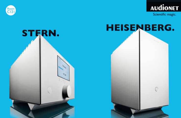 Audionet Heisenberg Stern auf der Highend 2017