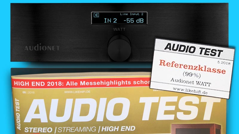 Audionet WATT Audio Test