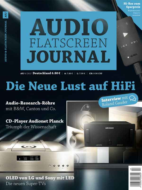Audio Flatscreen Journal Test PLANCK und AMPERE