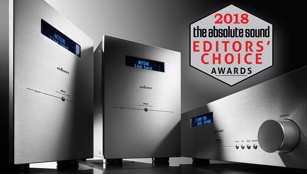 Audionet MAX & PRE G2 the absolute sound editors choice 2018